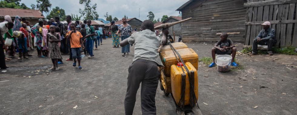 Meio milhão de pessoas estão sem acesso à água potável após erupção do vulcão Nyiragongo, na República Democrática do Congo