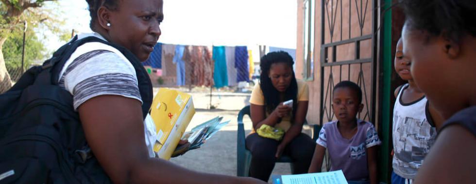 Respondendo à violência sexual generalizada no cinturão da platina da África do Sul