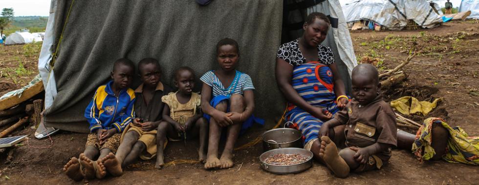 A luta diária dos refugiados de Ituri em Uganda