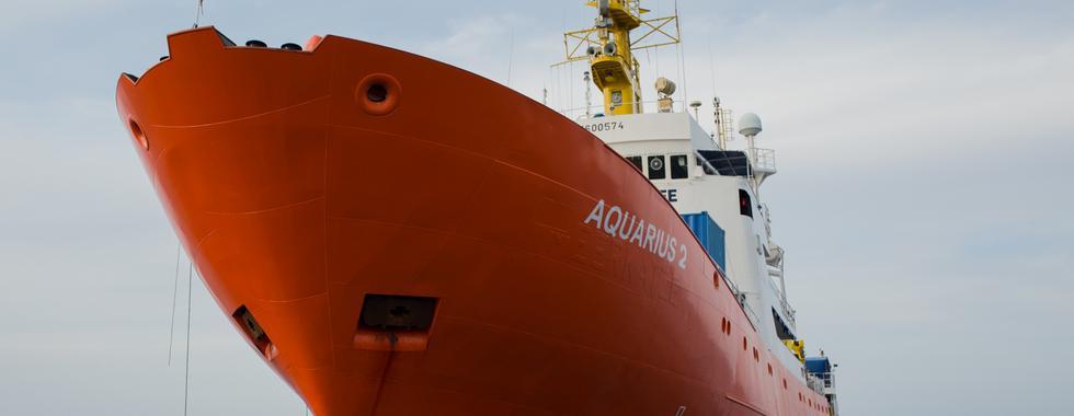 Itália pressiona Panamá para deter resgates do Aquarius