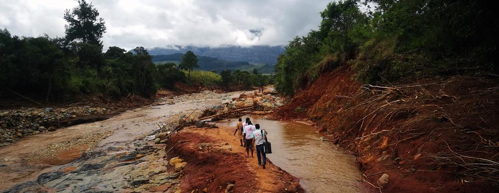 Ciclone Idai, Zimbábue: os primeiros seis dias