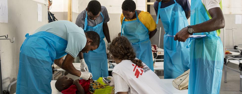 MSF mantém ação intensa para evitar expansão de cólera em Moçambique