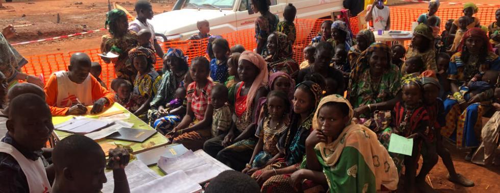 República Centro-Africana: vacinação em Mingala