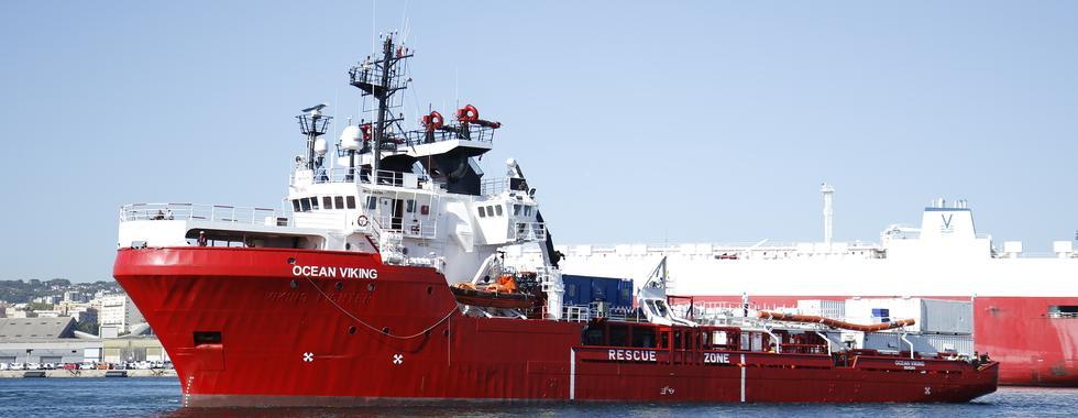 Ocean Viking é impedido de voltar para área de resgate no mar por medida discriminatória