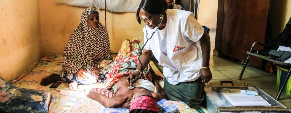 6 projetos de MSF que tratam a saúde da mulher