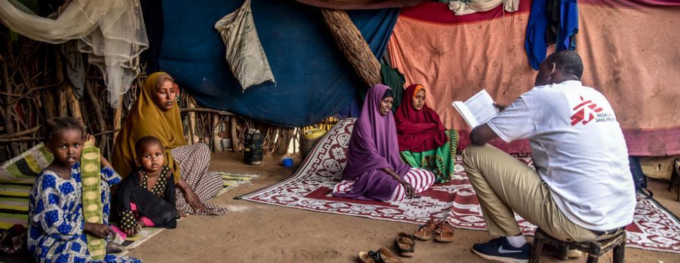 Quênia: resposta à COVID-19 e serviços de saúde regulares para refugiados em Dadaab
