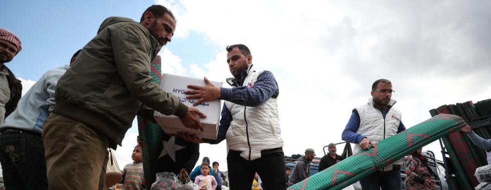 Idlib, Síria: MSF mantém distribuição de itens de primeira necessidade e adapta sua resposta à ameaça da COVID-19