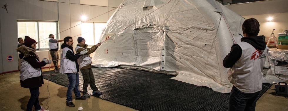 MSF ajuda na resposta à COVID-19 em Reims, na França
