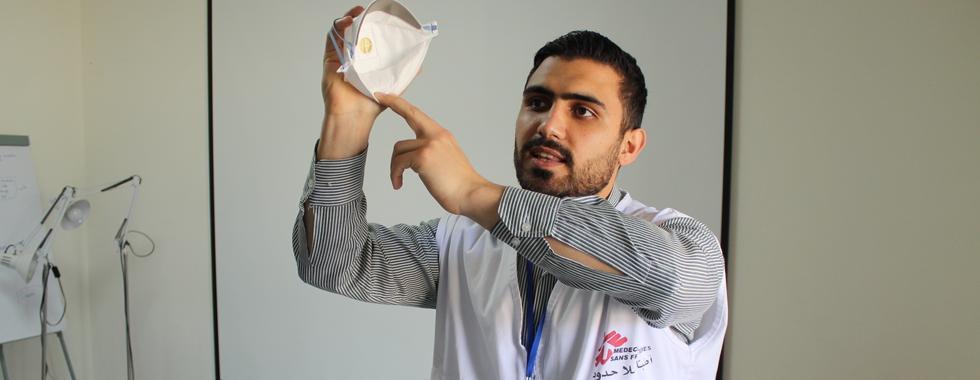 MSF apoia atividades no Líbano para responder ao surto de COVID-19