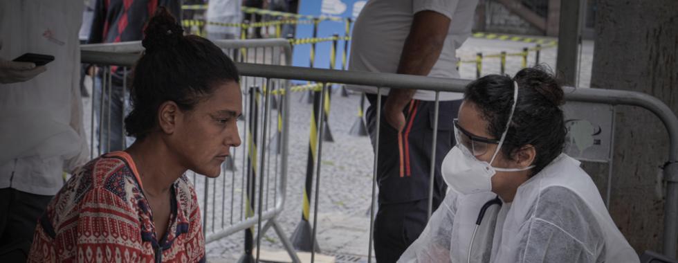 MSF atua no Brasil contra COVID-19 com foco nos mais vulneráveis