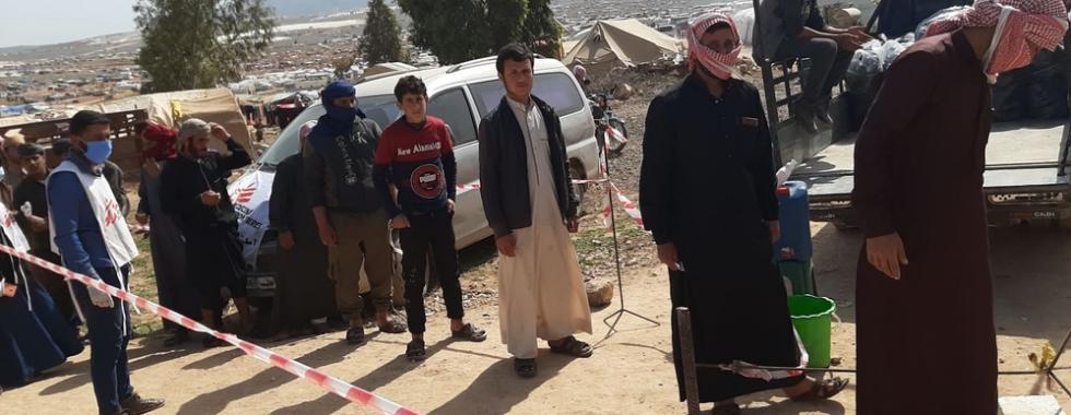 Síria: casos de COVID-19 crescem no noroeste do país
