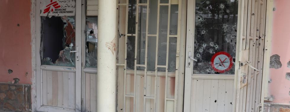 Cinco ataques recentes contra instalações de saúde que afetaram as atividades de MSF
