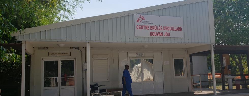 MSF reabre hospital para pessoas com queimaduras em Porto Príncipe, no Haiti