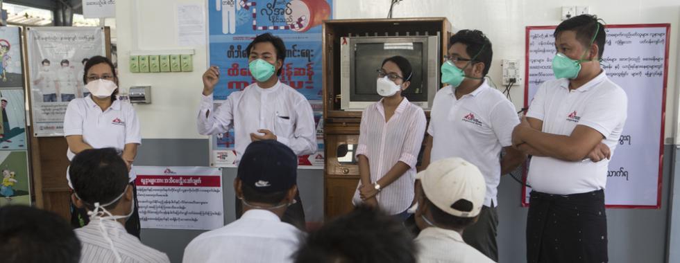 Mianmar: após 26 anos, MSF transfere pacientes para o Programa Nacional de Aids