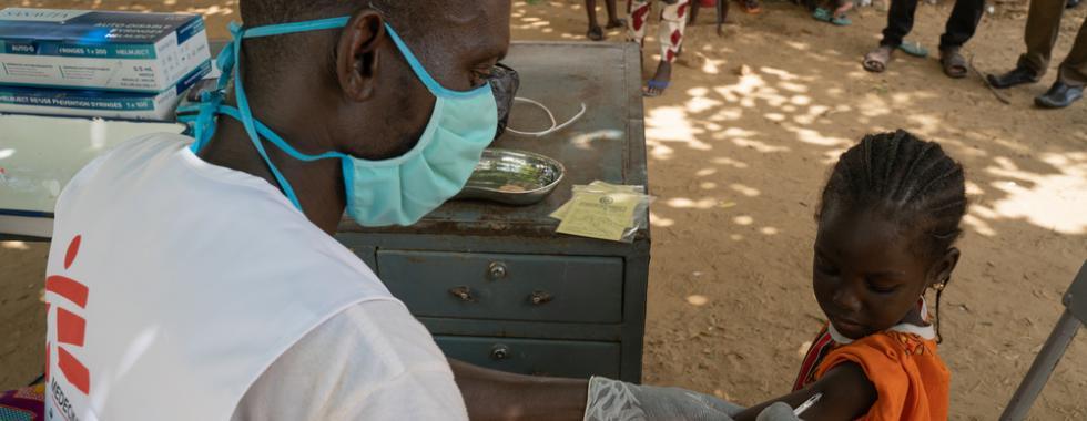 Mais de 50 mil crianças são vacinadas contra o sarampo no Mali