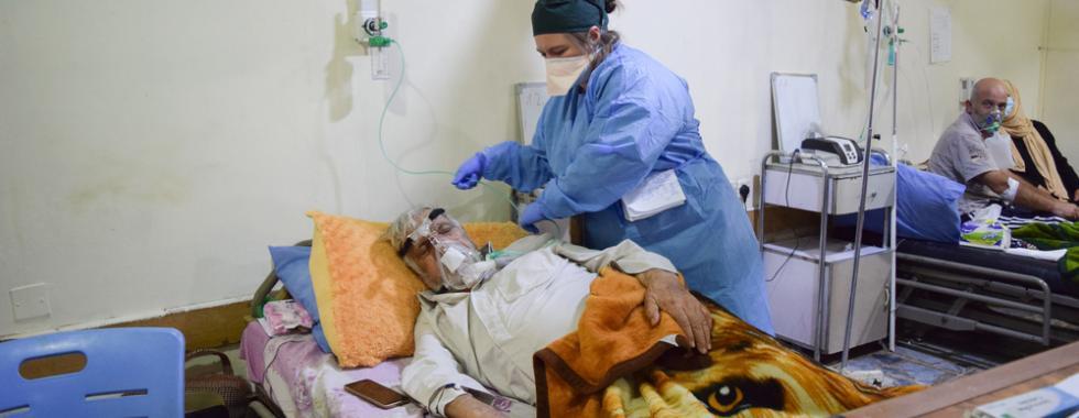 Iraque: surto de COVID-19 em Bagdá tem números preocupantes