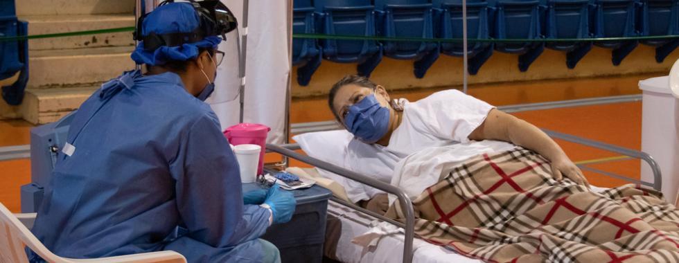 México: MSF conclui atividades nos centros de COVID-19 de Reynosa e Matamoros