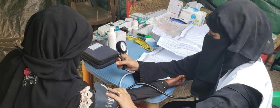 MSF retoma atendimentos por clínicas móveis nos campos de Abs, no Iêmen