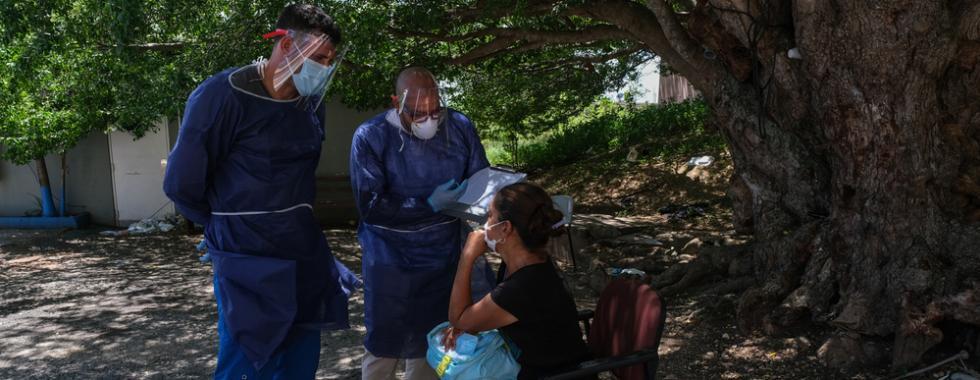 COVID-19: atendimento domiciliar foi destaque do programa de MSF em Porto Rico