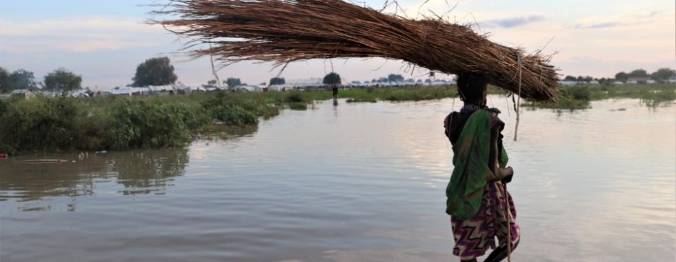 Cerca de 800.000 pessoas são afetadas por inundações no Sudão do Sul