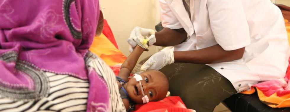 Enfrentando a desnutrição em Am Timan, no Chade