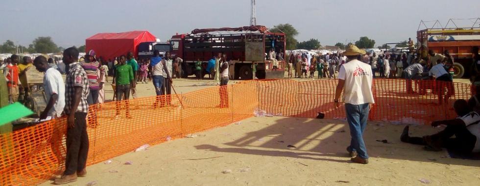 Nigéria: aumentando esforços para conter a cólera em Maiduguri