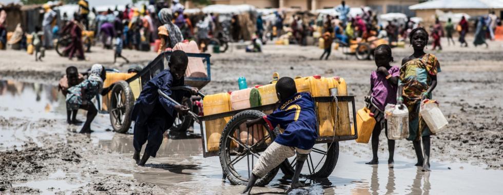 """""""As pessoas estão morrendo de hepatite E porque não têm sabão ou água limpa"""""""