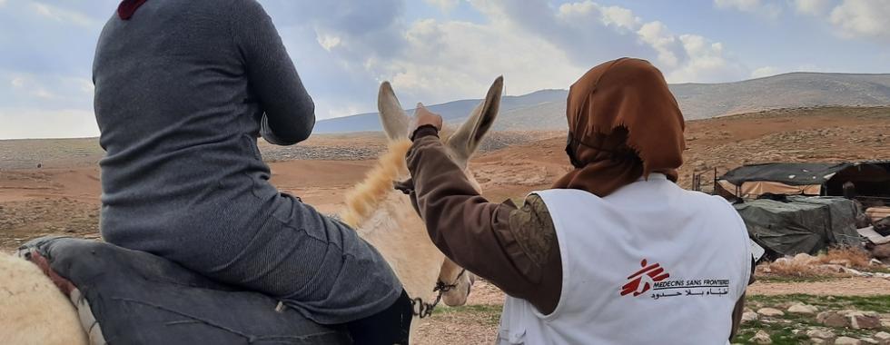 Clínicas móveis em Hebron, 20 de dezembro de 2020