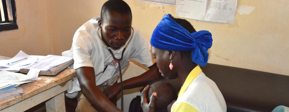 Ajuda humanitária em um país esquecido