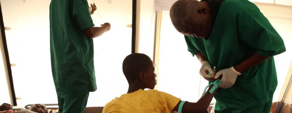 Epidemia de cólera em Kinshasa