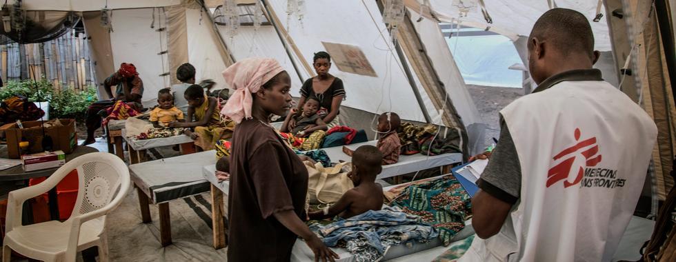 RDC: MSF trata 17.000 pessoas durante epidemia de cólera