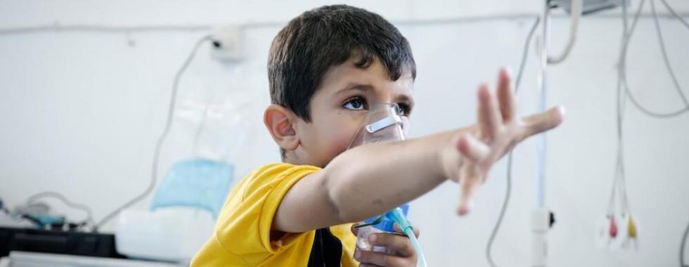 Buscando ajudar os sírios, onde quer que precisem de ajuda