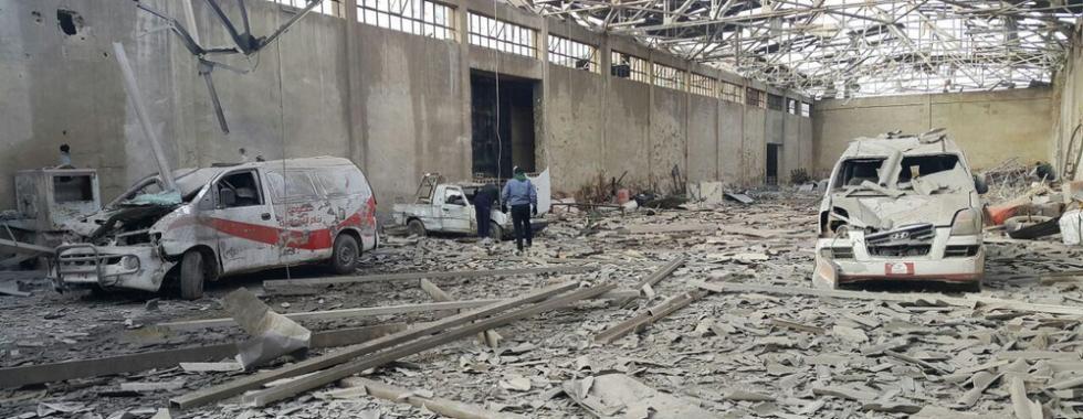 Síria: influxos extraordinários de feridos no leste de Ghouta