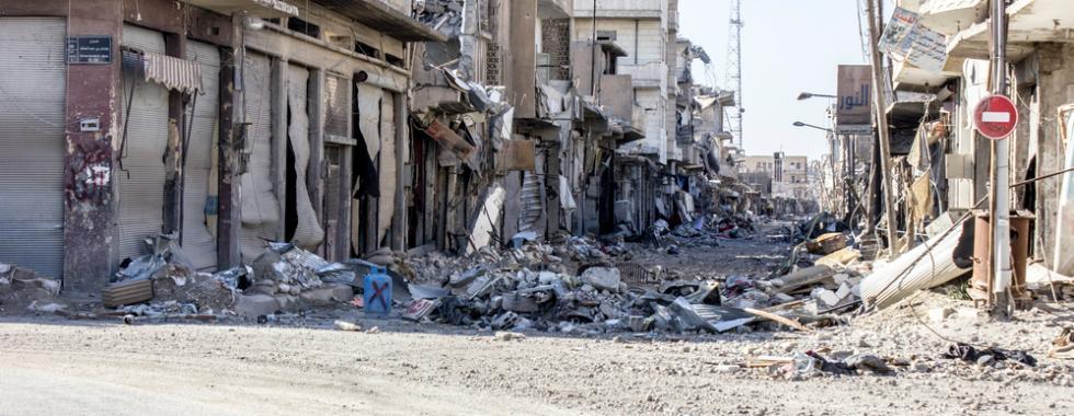 Síria: armadilhas e minas terrestres aguardam moradores que voltam a Raqqa