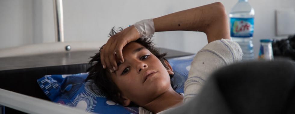 Nordeste da Síria: em apenas quatro meses, MSF atendeu 133 pessoas feridas por artefatos explosivos