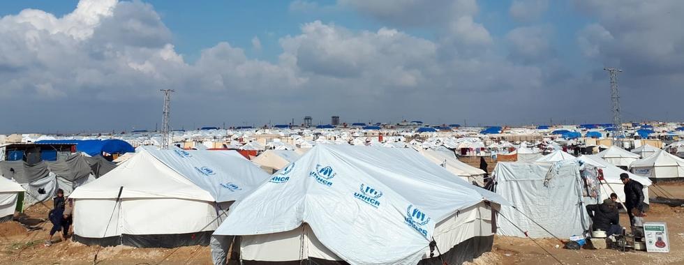 Síria: mulheres e crianças continuam sofrendo no campo de Al Hol