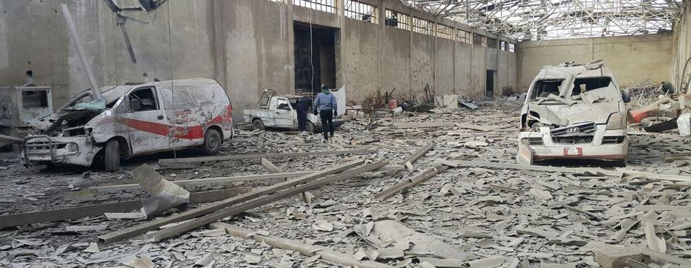 Síria: hospitais apoiados por MSF no leste de Goutha foram violados