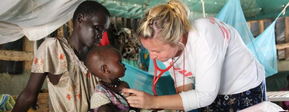 Sudão do Sul: acesso a cuidados de saúde essenciais é dramaticamente reduzido por causa do aumento da violência