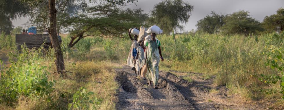 As duras escolhas das pessoas deslocadas em Aburoc