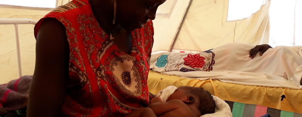 Sudão do Sul: pré-natal para as mulheres da região de Leer