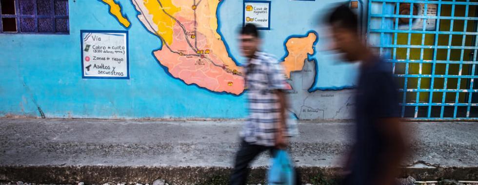 Desaparecimentos e violência: o preço para cruzar o México