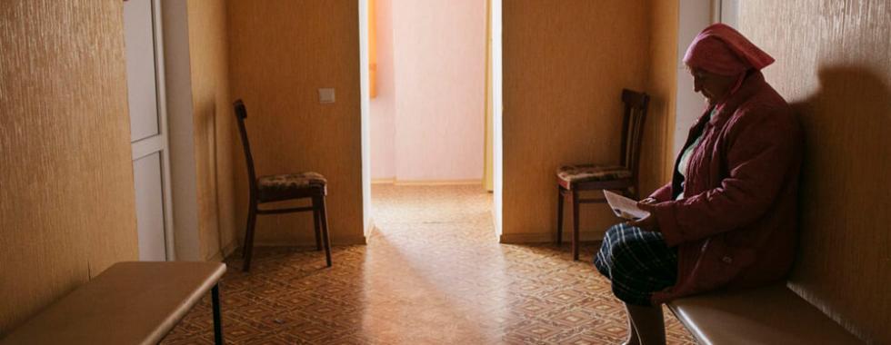 Ucrânia: as mulheres deixadas para trás na zona de conflito
