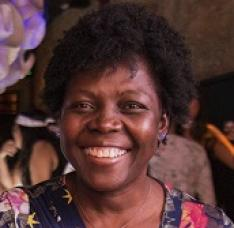 Ysena Jean, recepcionista de MSF-Brasil
