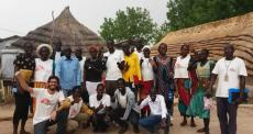 A força da população sul-sudanesa