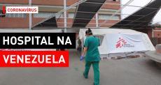 Centro de tratamento de COVID-19 na Venezuela