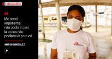 Conheça Noris Gonzalez, mediadora cultural de MSF em Boa Vista, Roraima