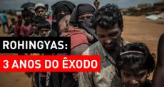 Três anos do maior deslocamento de rohingyas para Bangladesh