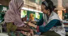 Bangladesh: refugiados rohingyas ainda estão vulneráveis a riscos de saúde graves