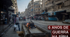 6 anos de guerra na Síria