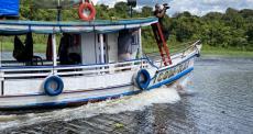 Testemunhos no Rio Anapu